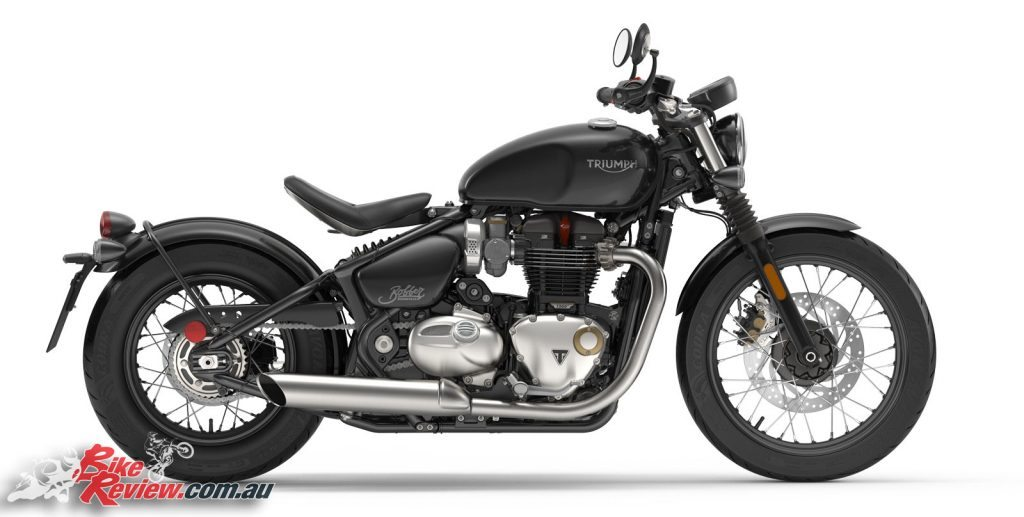 All New 2017 Triumph Bonneville Bobber