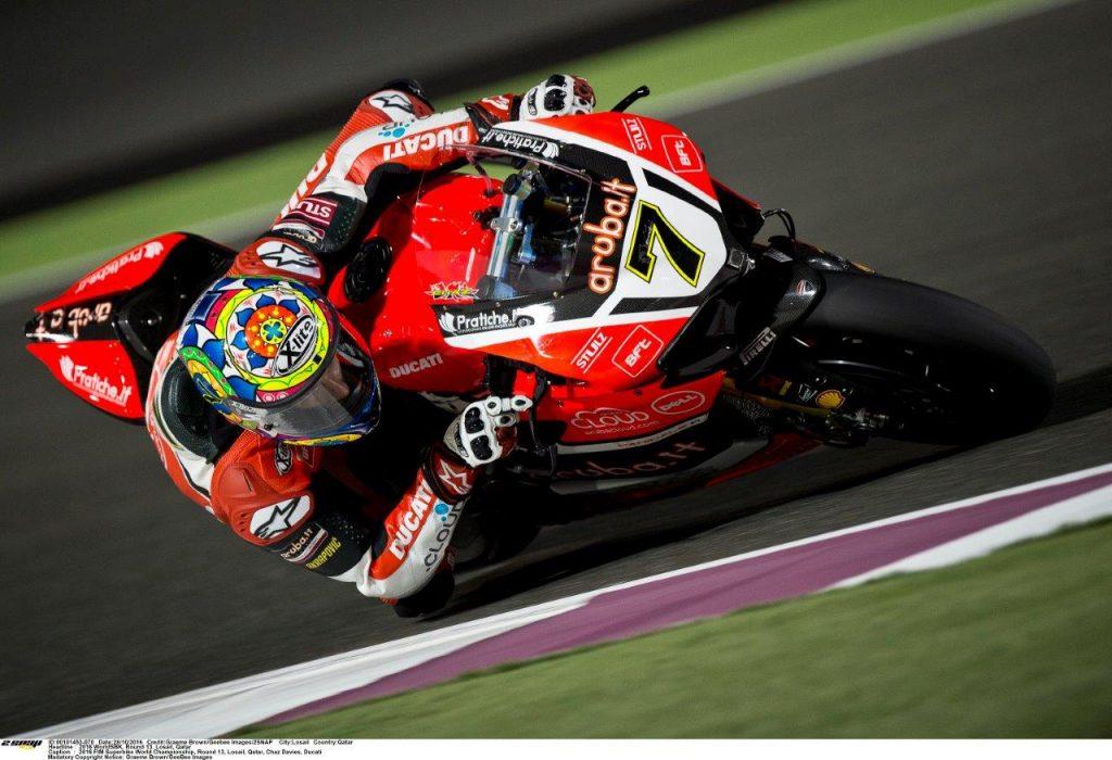 9 Chaz Davies Ducati