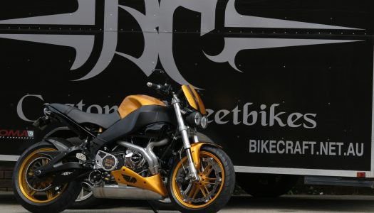 Aussie Workshop: Bikecraft Custom Streetbikes