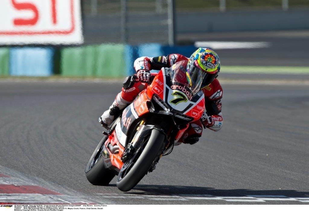 Chaz Davies Ducati unstoppable