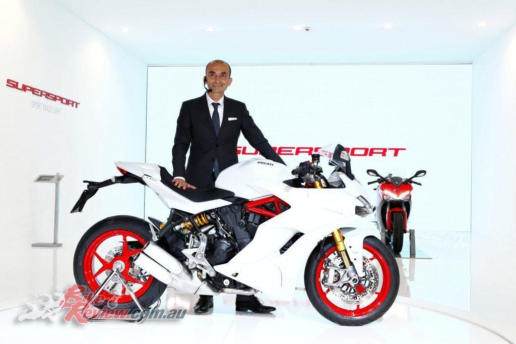 Ducati Supersport at Intermot