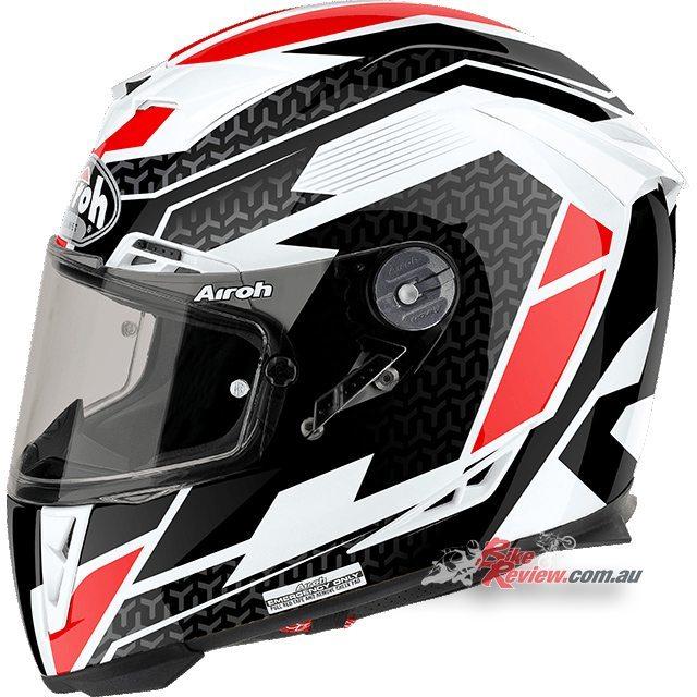 Airoh GP 500, race bred helmet, Regular Red Gloss