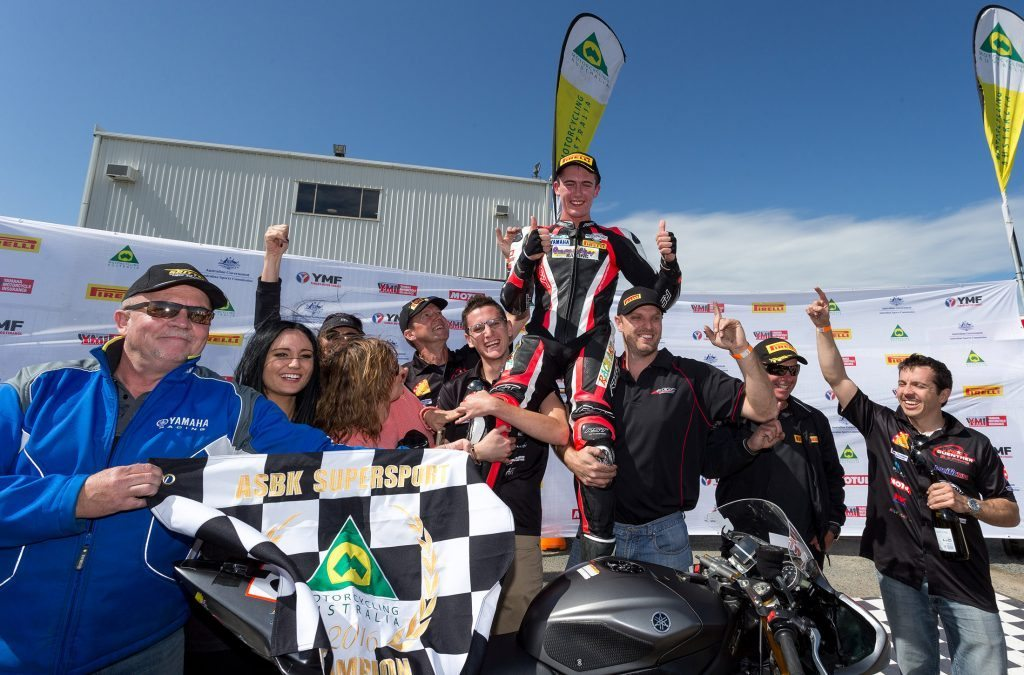 Guenther wraps up Motul Supersport Championship