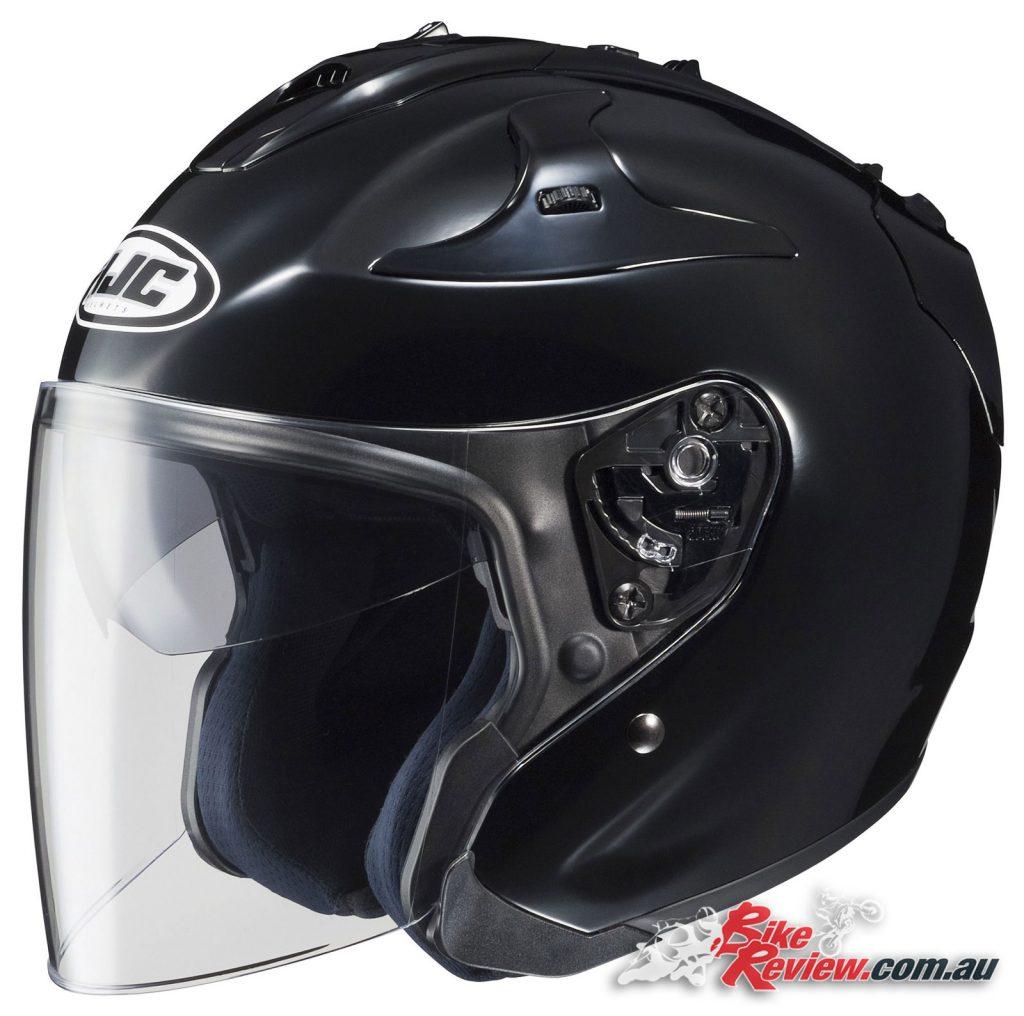 The HJF FG-Jet Open Face Helmet