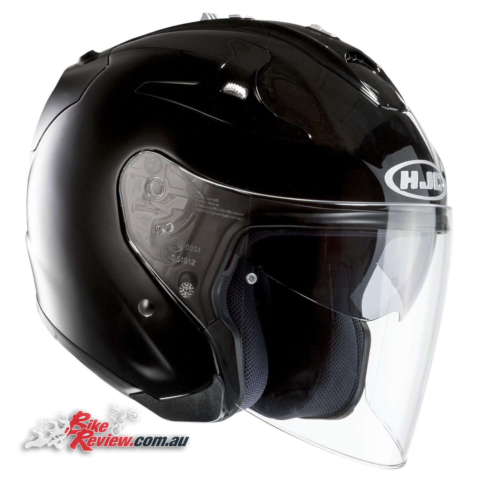 hjc fg jet helmet review bike review. Black Bedroom Furniture Sets. Home Design Ideas