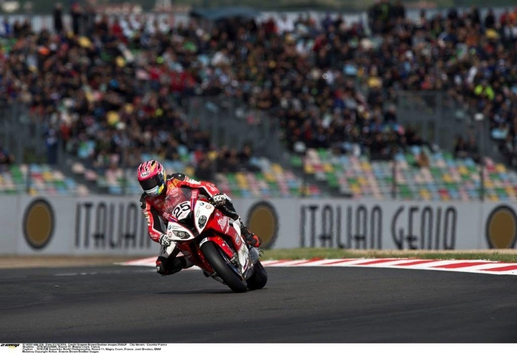 Josh Brookes BMW Magny cours