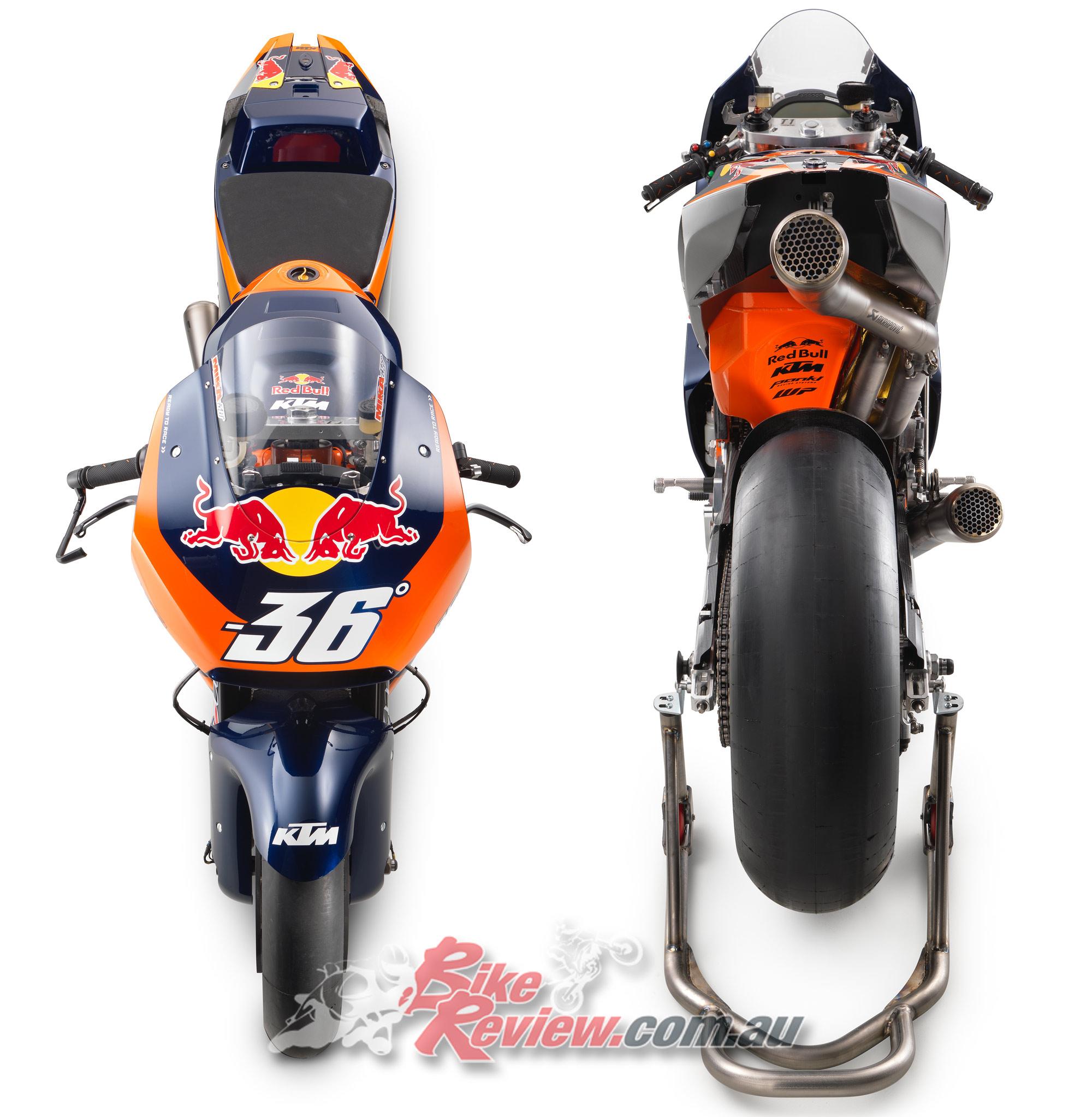 The KTM RC16 MotoGP machine - Bike Review