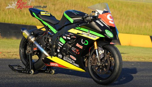 Mike Jones's 2015 ASBK Winning ZX-10R
