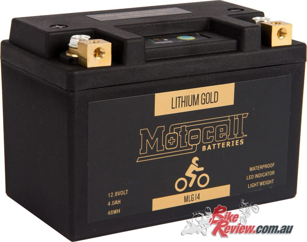 Motocell Gold Lithium-Ion batteries