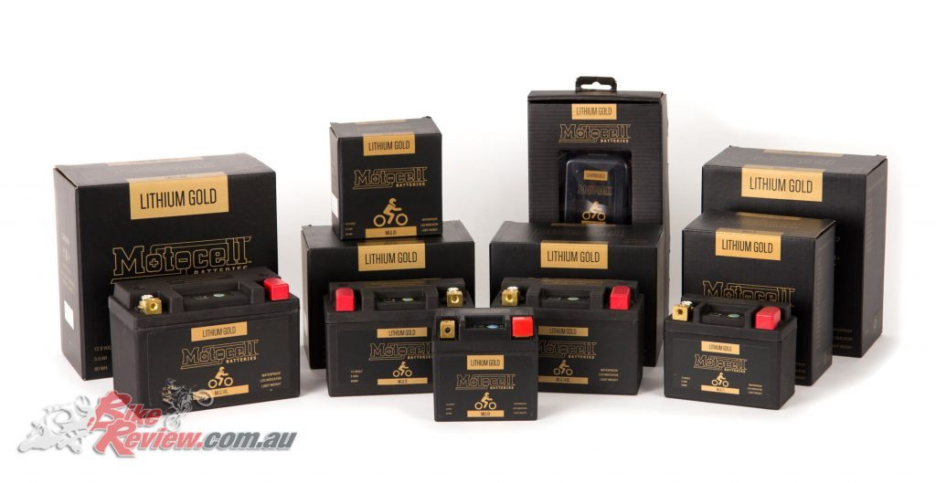 The Motocell Gold range