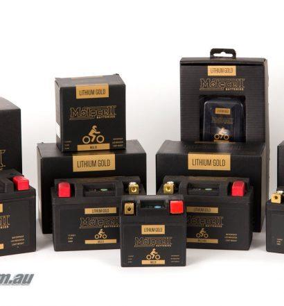The Motocell Gold range
