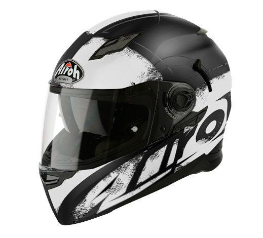 Airoh Movement S, Sport/Touring helmet, Cut White Matt