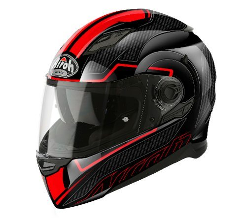 Airoh Movement S, Sport/Touring helmet, Faster Red Gloss