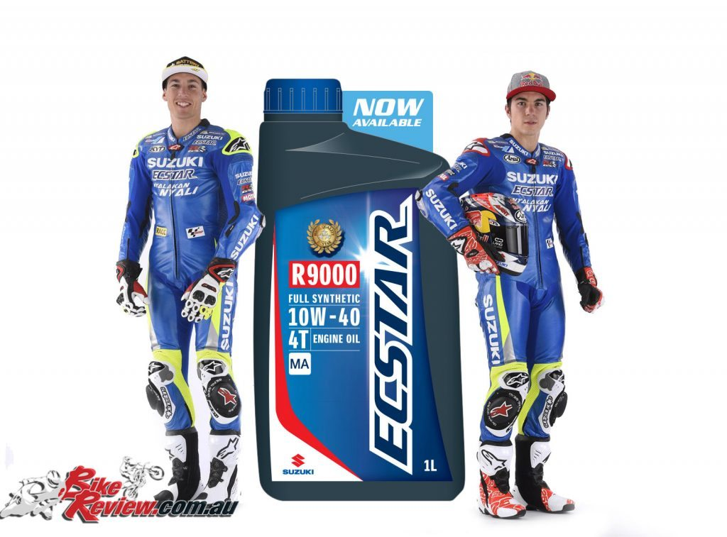 Suzuki launches ECSTAR motorcycle oil in Australia at 2016 Phillip Island MotoGP round