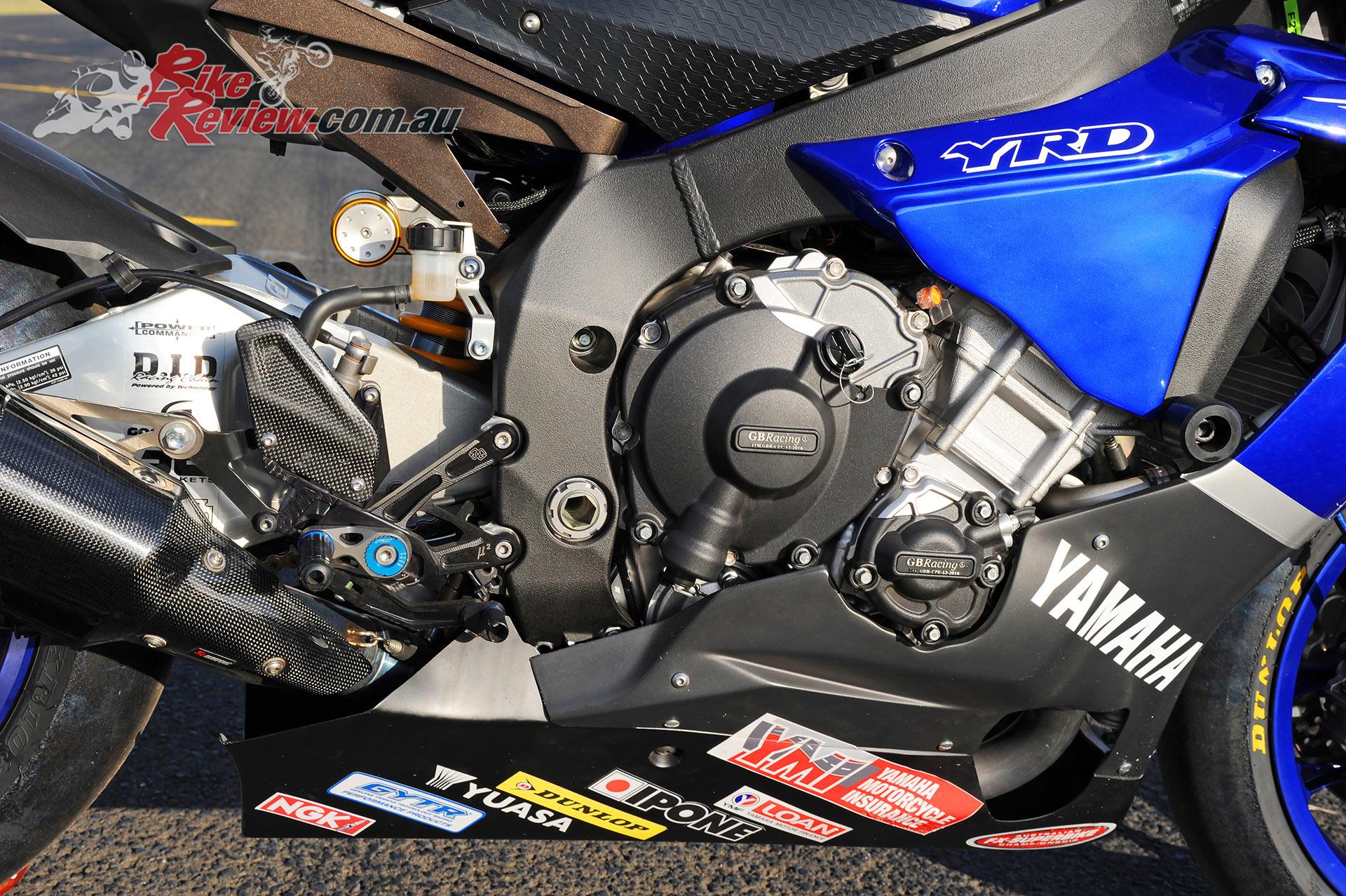 Wayne Maxwells YRT Yamaha YZF R1