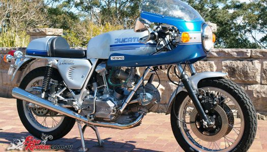 All Original Restoration – Ducati 900 SS