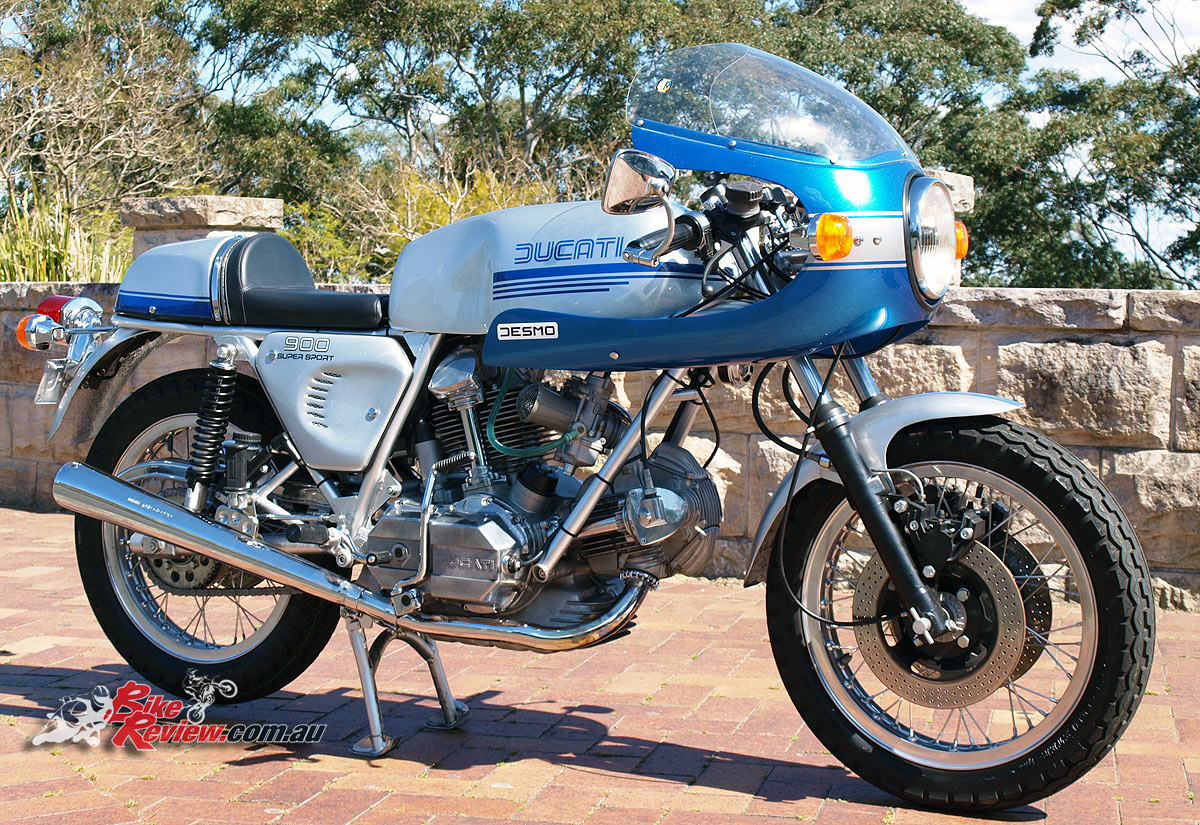 classic collectable all original restoration ducati 900 ss bike review. Black Bedroom Furniture Sets. Home Design Ideas