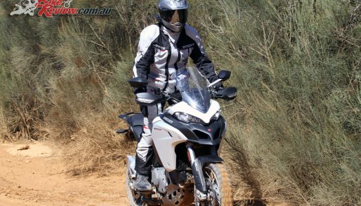 Video Review: Ducati Multistrada Enduro Part4, Luggage
