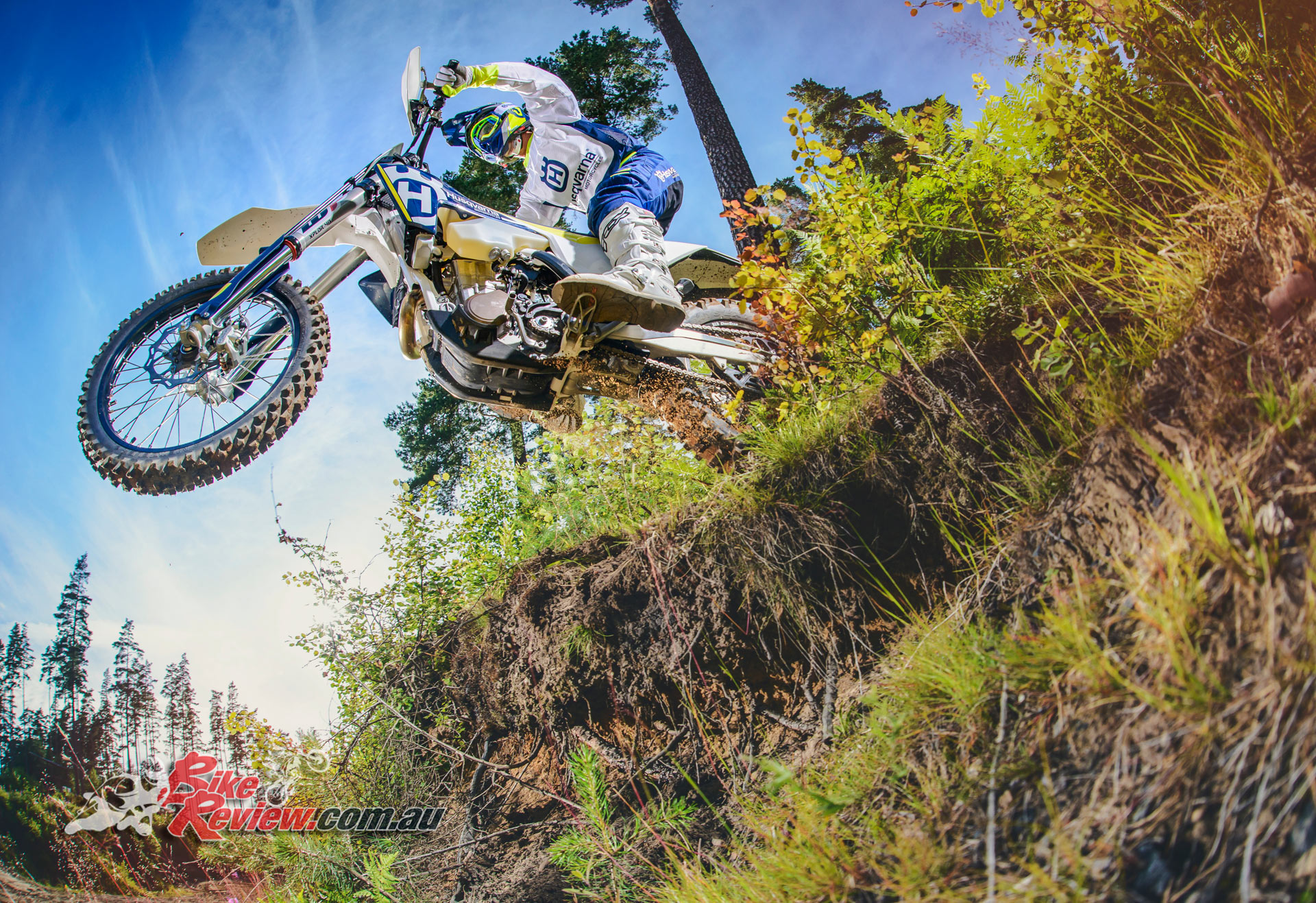 2017 Husqvarna FE 450 has serious power and is for the experienced rider, who will get the most out of the amazing chassis and engine.