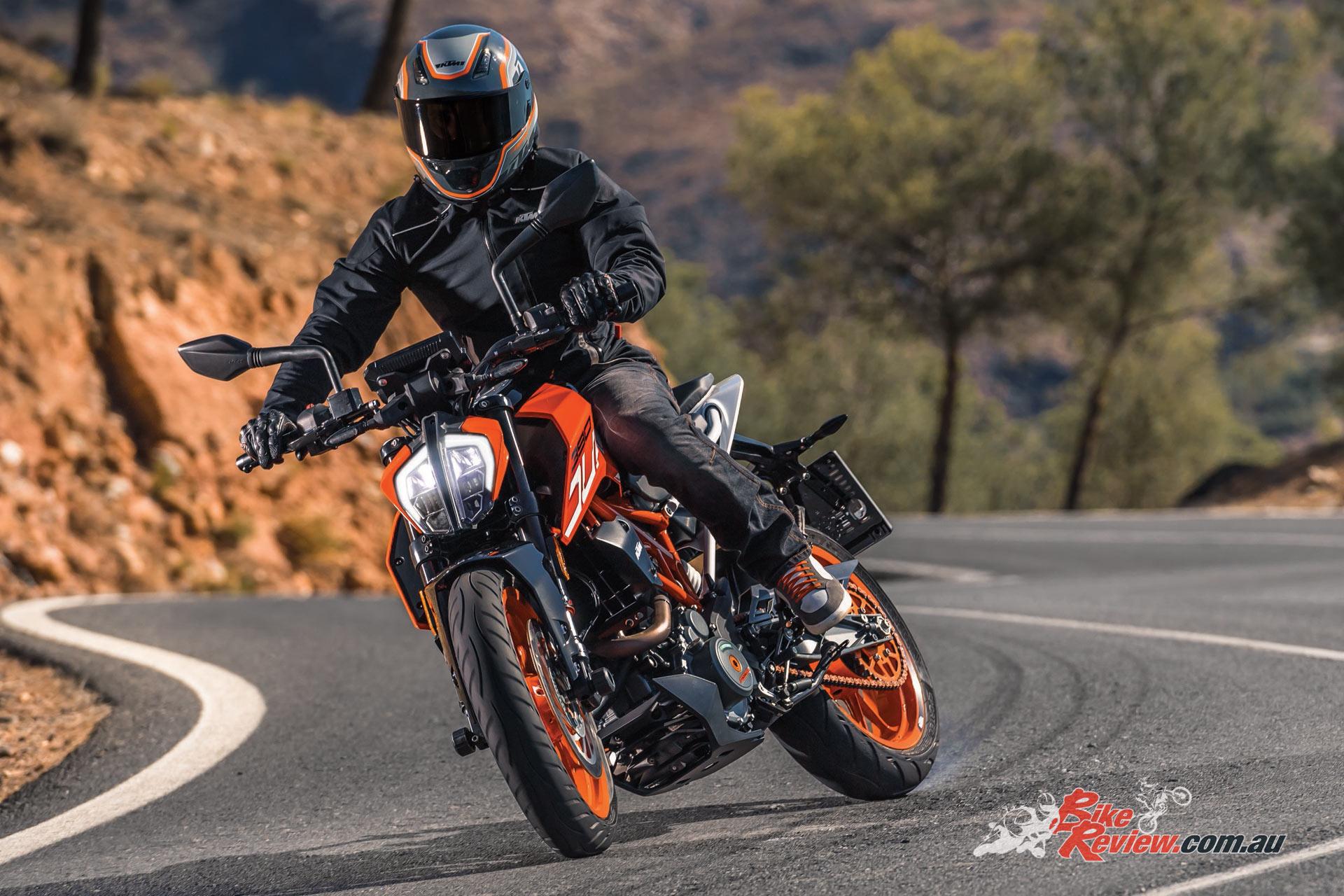 2017 KTM 390 Duke, Image courtesy of KTM by R. Schedl