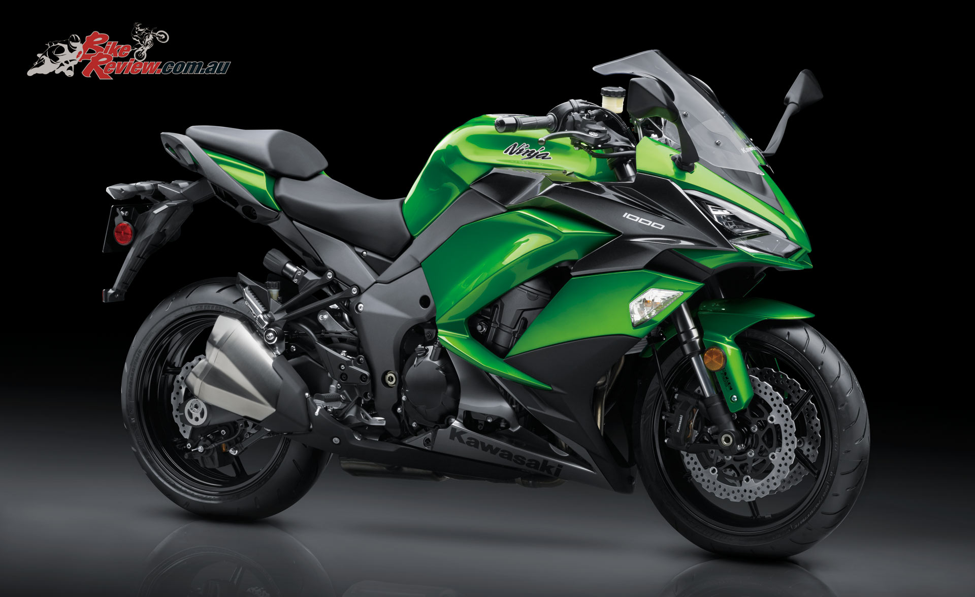 kawasaki 39 s 2017 ninja 1000 now available bike review. Black Bedroom Furniture Sets. Home Design Ideas