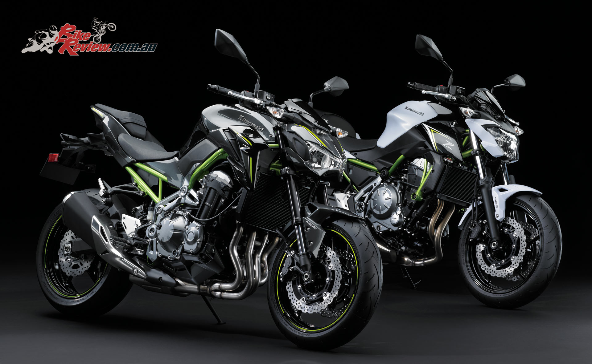 2017 Kawasaki Z900 and Z650