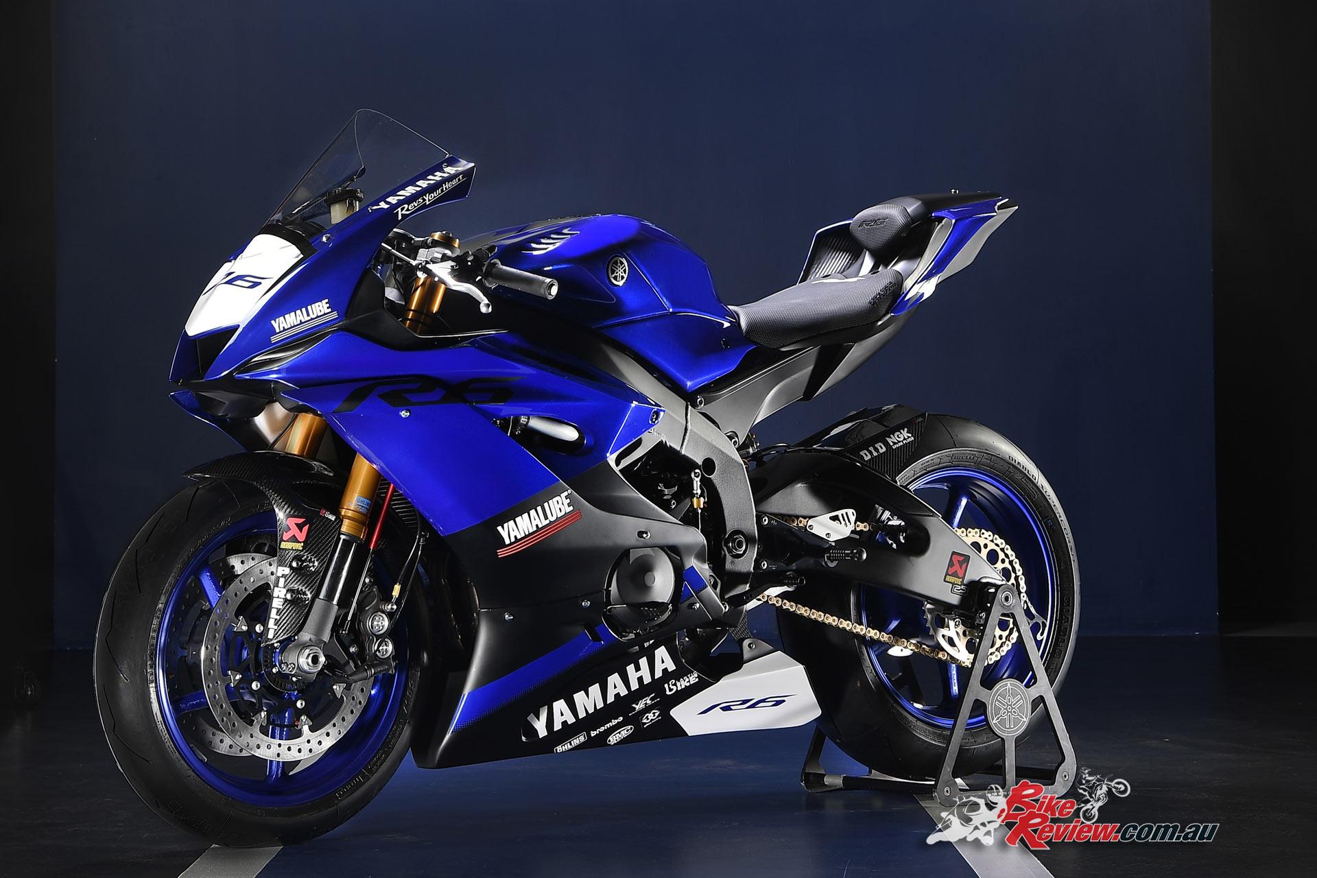 2017 Yamaha YZF-R6 'Racing', Image courtesy of Yamaha