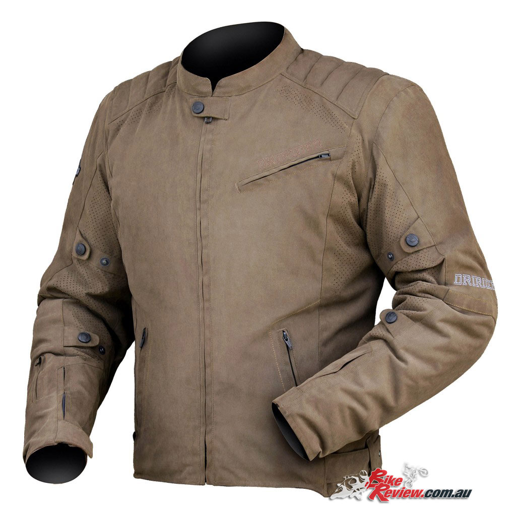 DriRider Scrambler jacket, brownDriRider Scrambler jacket, brown