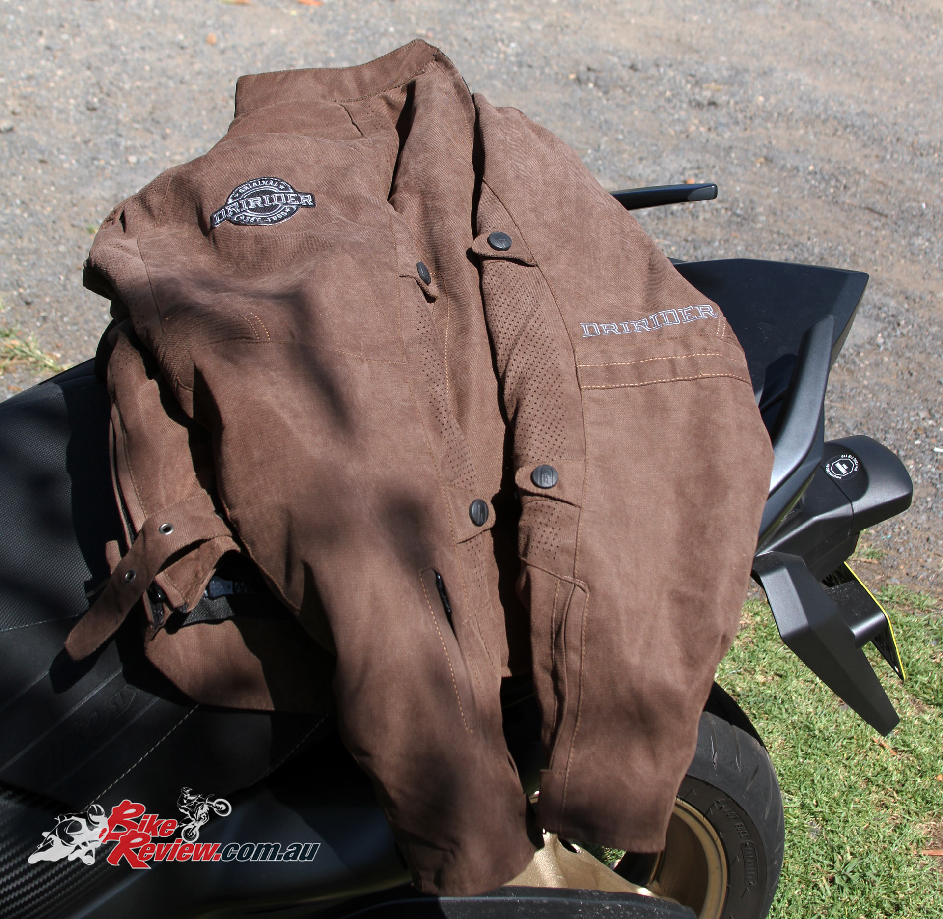 DriRider Scrambler jacket, brown