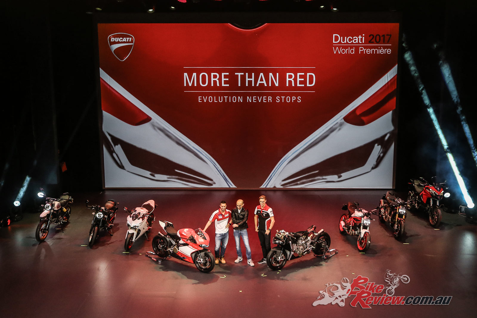 ducati ecima world premiere 2017 - bike review