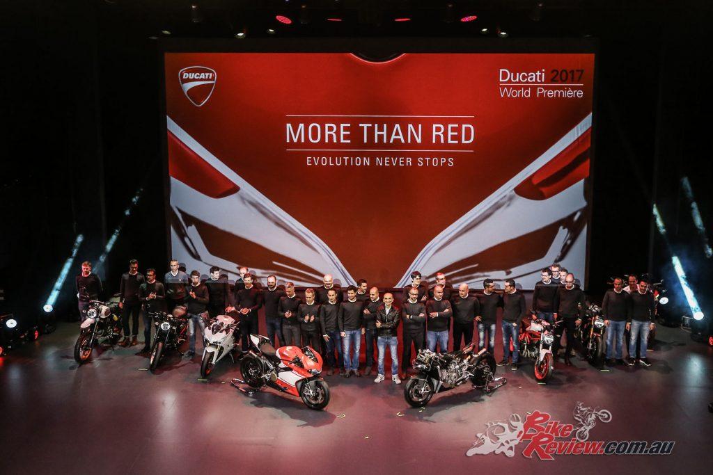 Ducati at EICMA 2016 revealing six new 2017 models