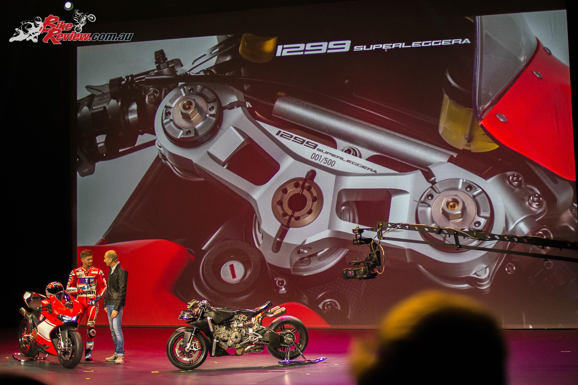 Ducati 1299 Superleggera introduced - EICMA 2016