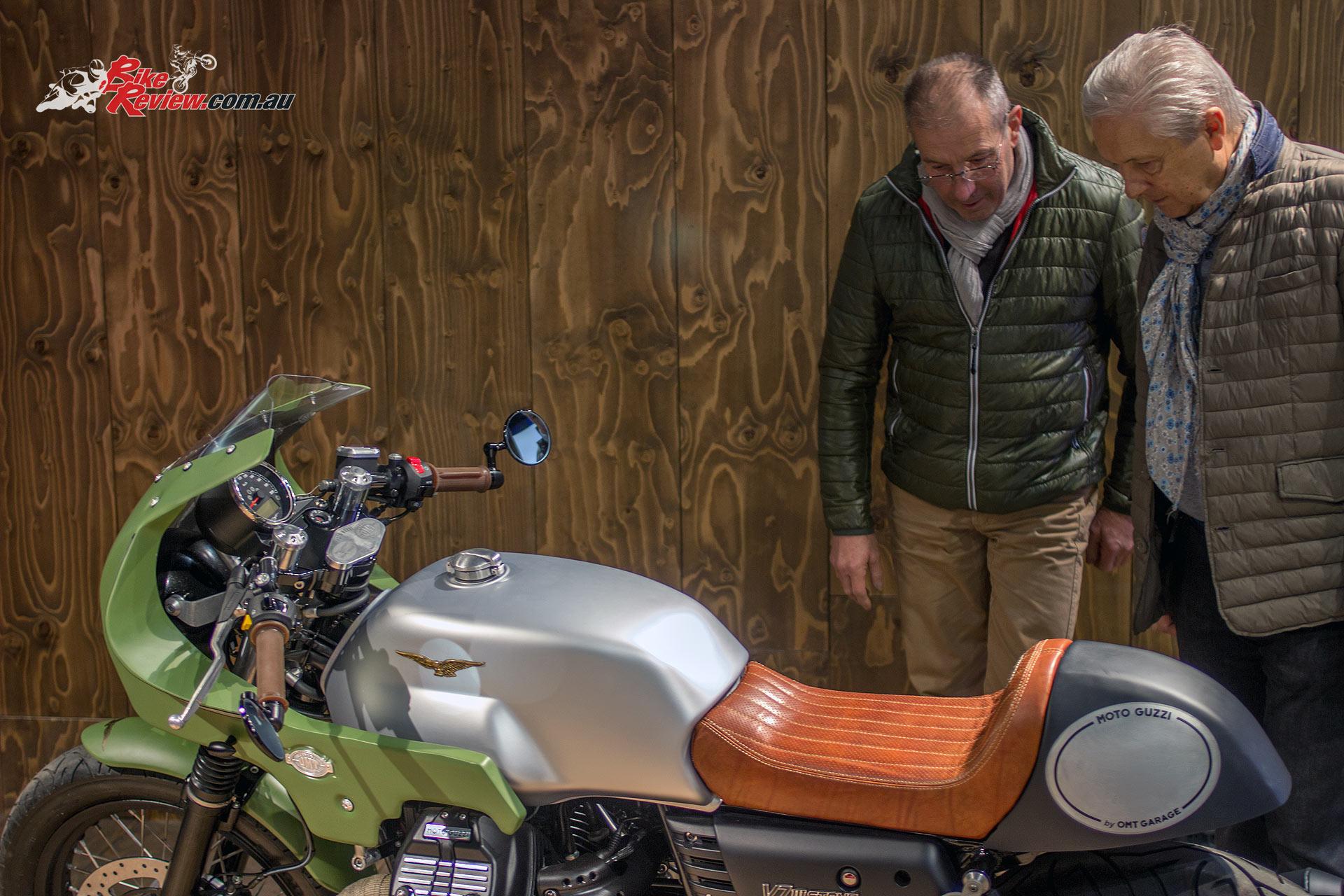 Moto Guzzi - EICMA 2016