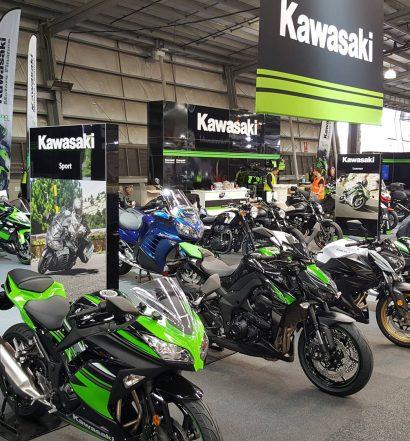 Kawasaki at the 2016 Melbourne Moto Expo - Image by Kawasaki