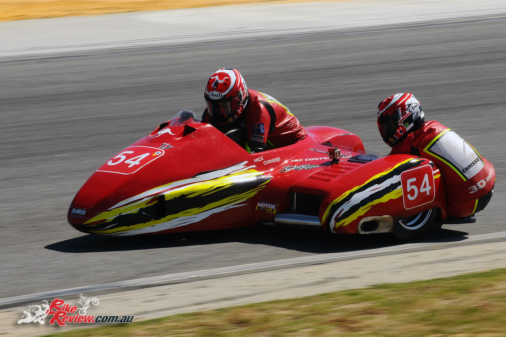 2016 Kings of Wanneroo, Mick Alton, Chrissie Clancy, F2 Sidecar Champions
