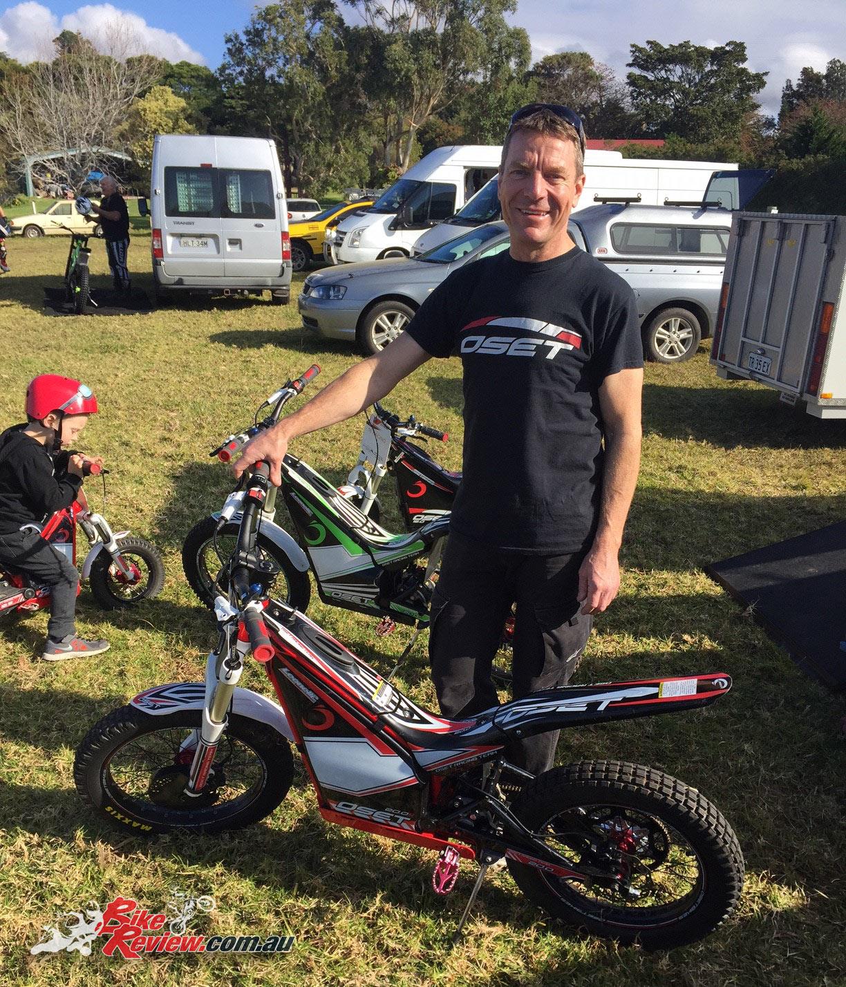 OSET electric trials bikes