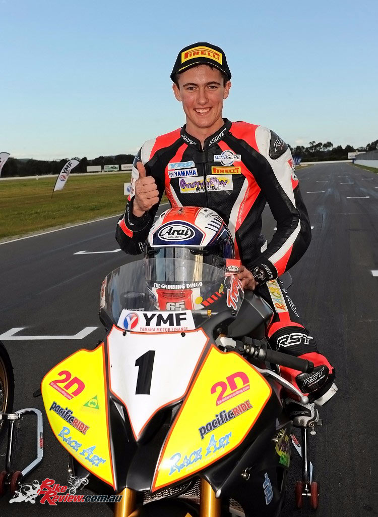 Troy Guenther, 2016 ASBK Supersport Champion