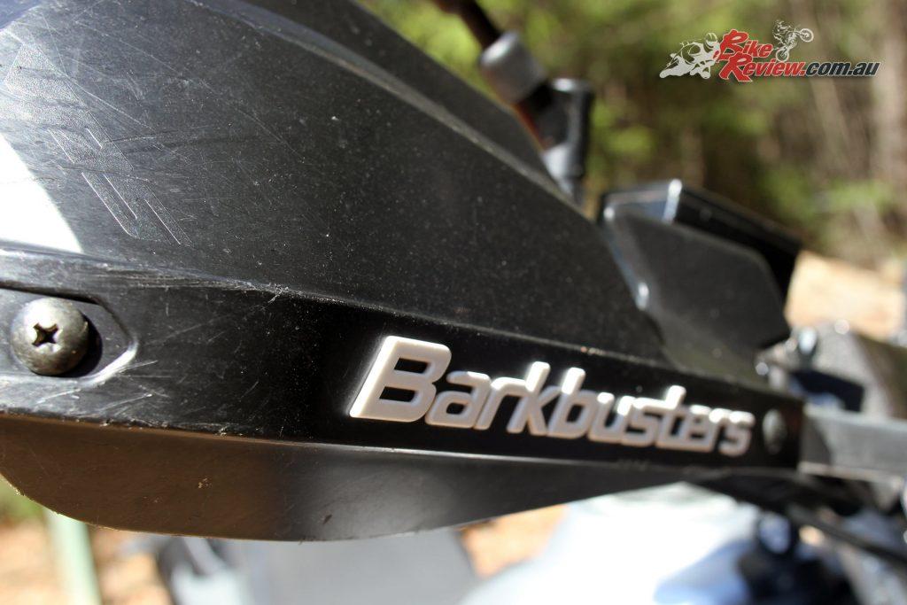 2016 Yamaha Tenere XTZ660 - Barkbuster hand guards