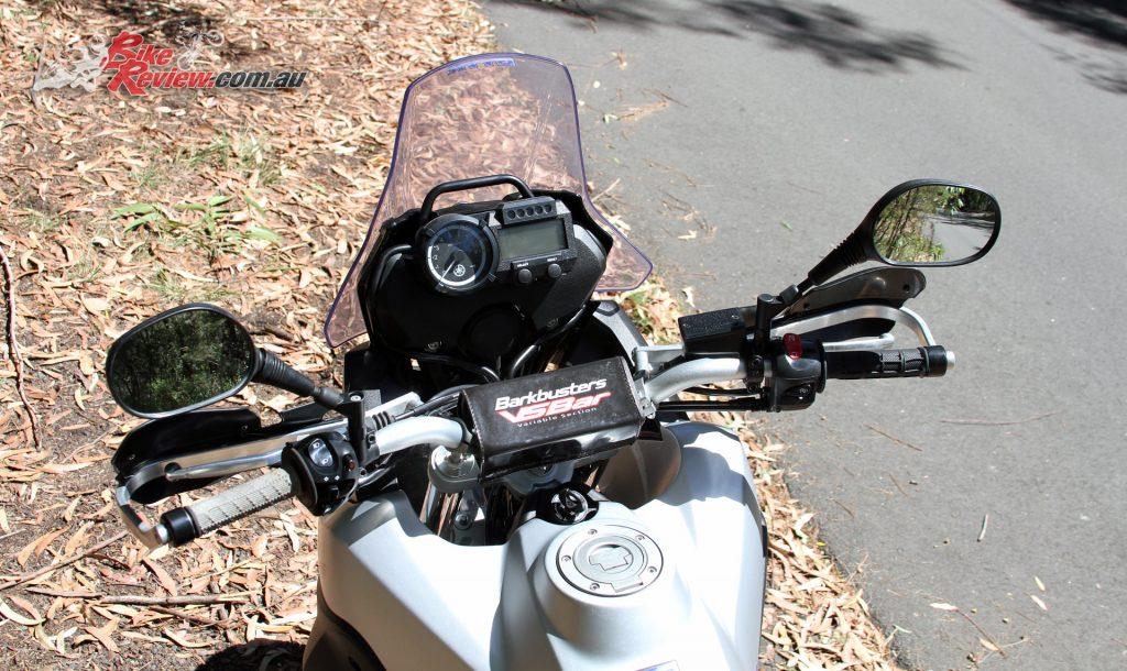 2016 Yamaha Tenere XTZ660 - Barkbusters VSBar