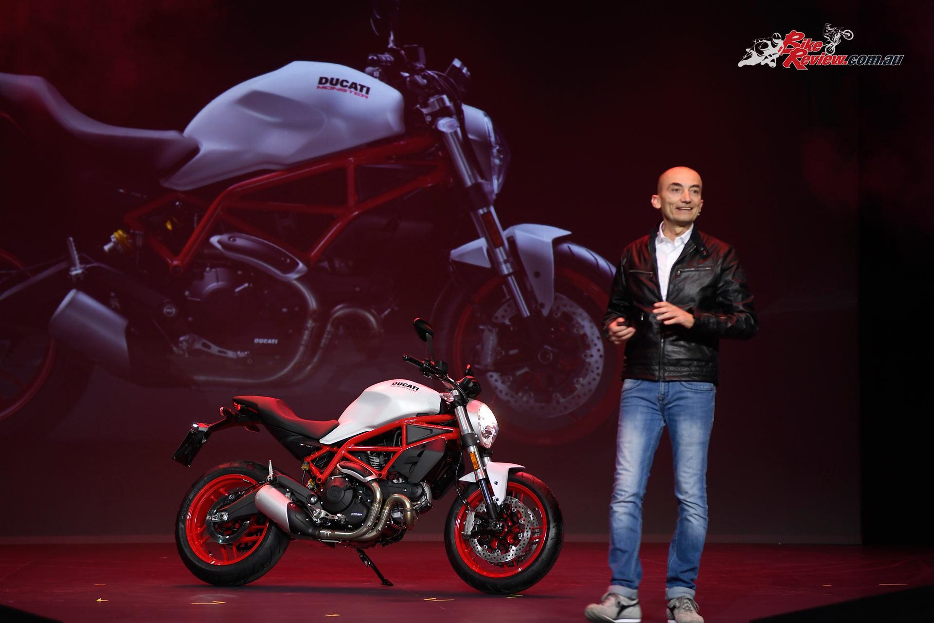 2017 Ducati Monster 797 revealed at EICMA
