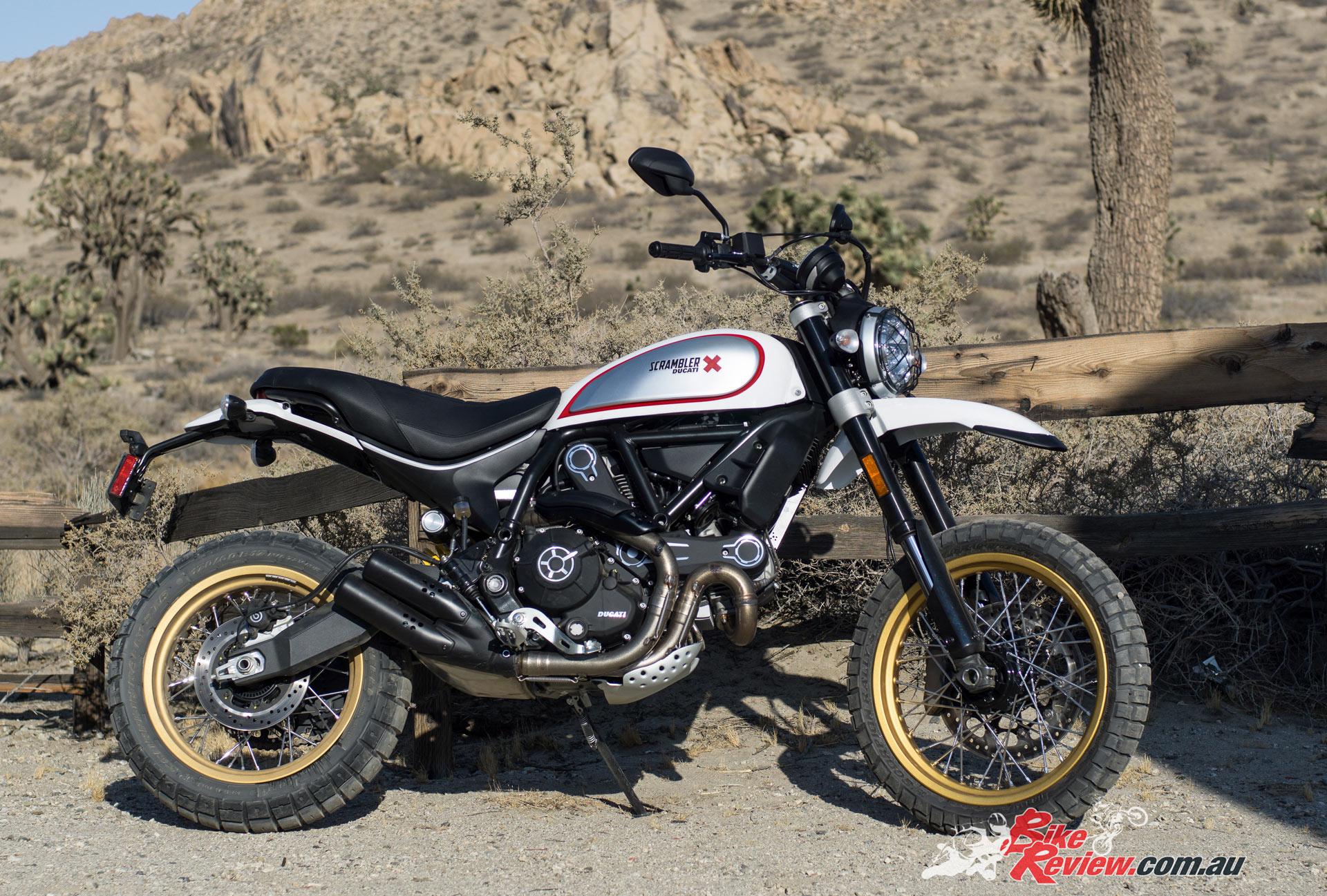 2017 Ducati Scrambler Desert Sled Bike Review
