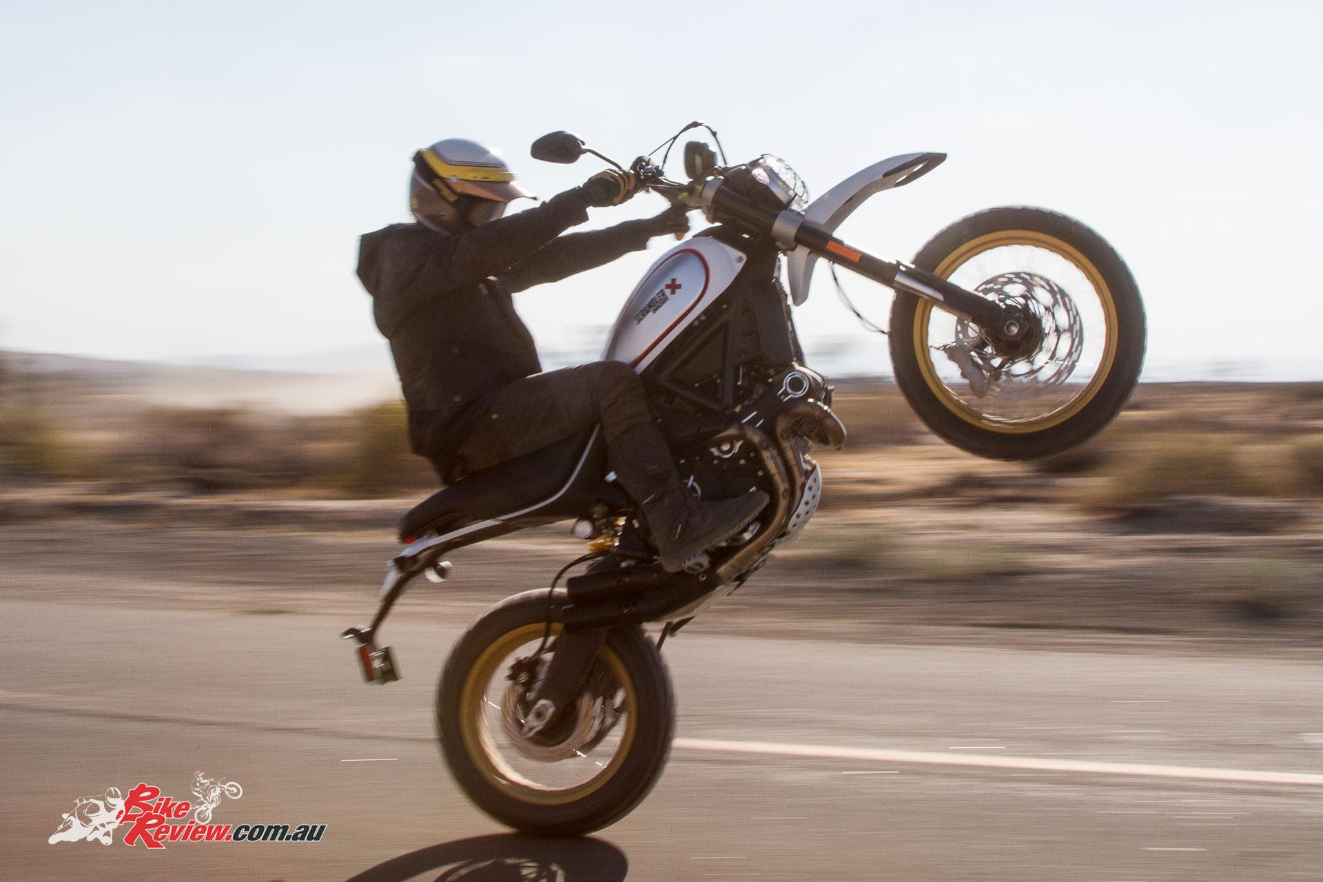 2017 Ducati Scrambler - Desert Sled