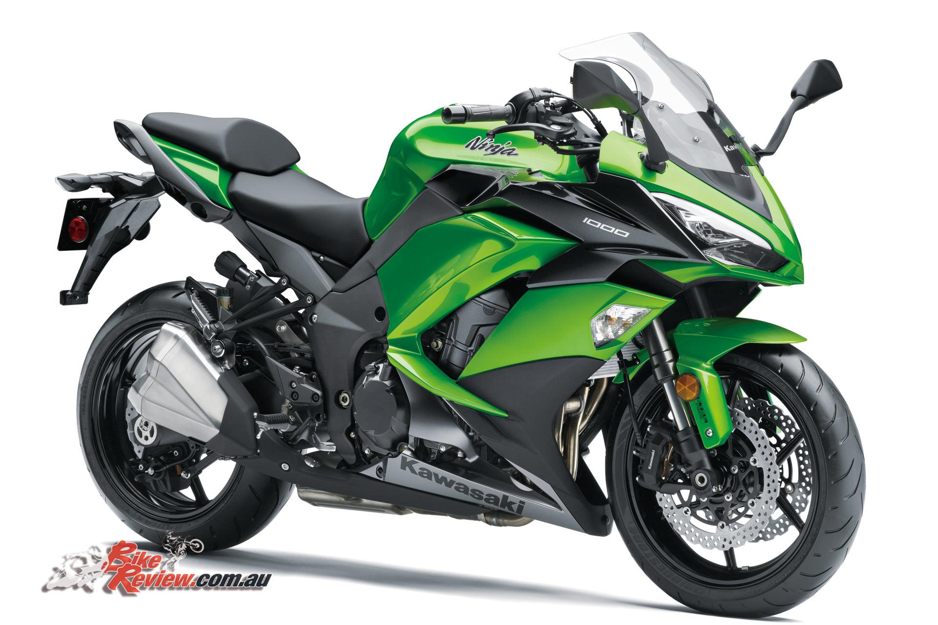 2017 Kawasaki Ninja 1000 - Updated - Bike Review