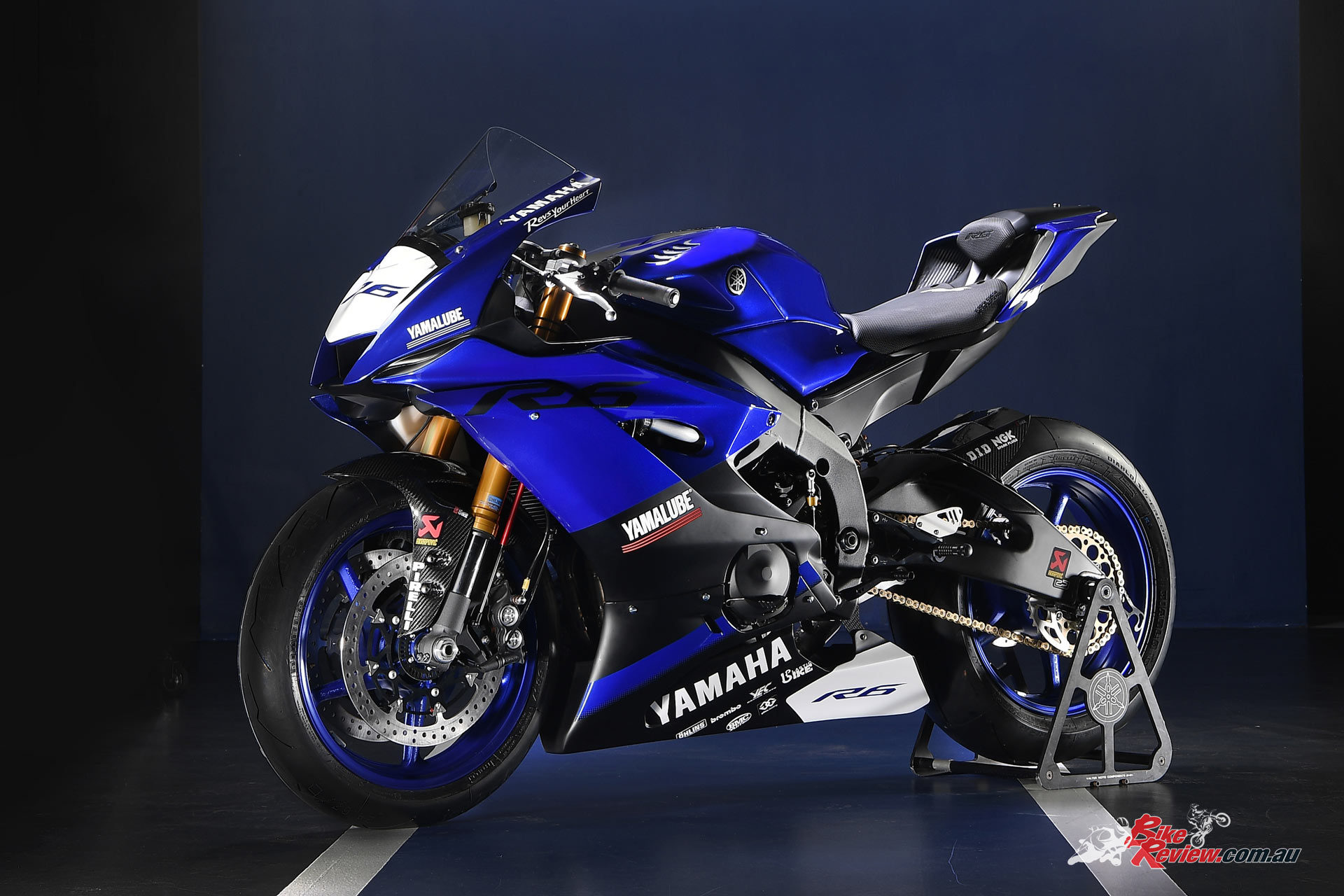 2017 Yamaha YZF R6 Racing Edition