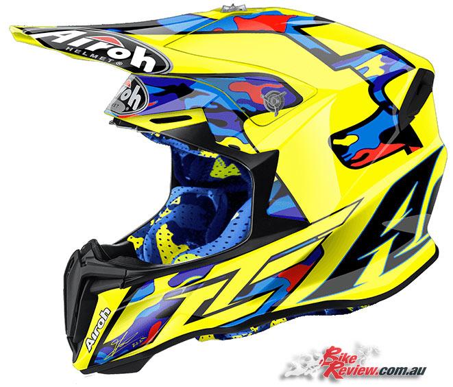 Agv Sport Twist Gloves: New Product: Airoh Twist Helmet