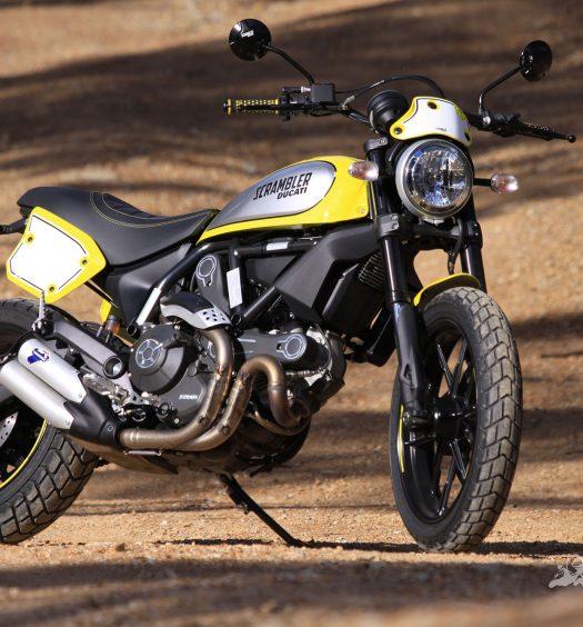 BikeReview Ducati Scrambler Flat Track Pro