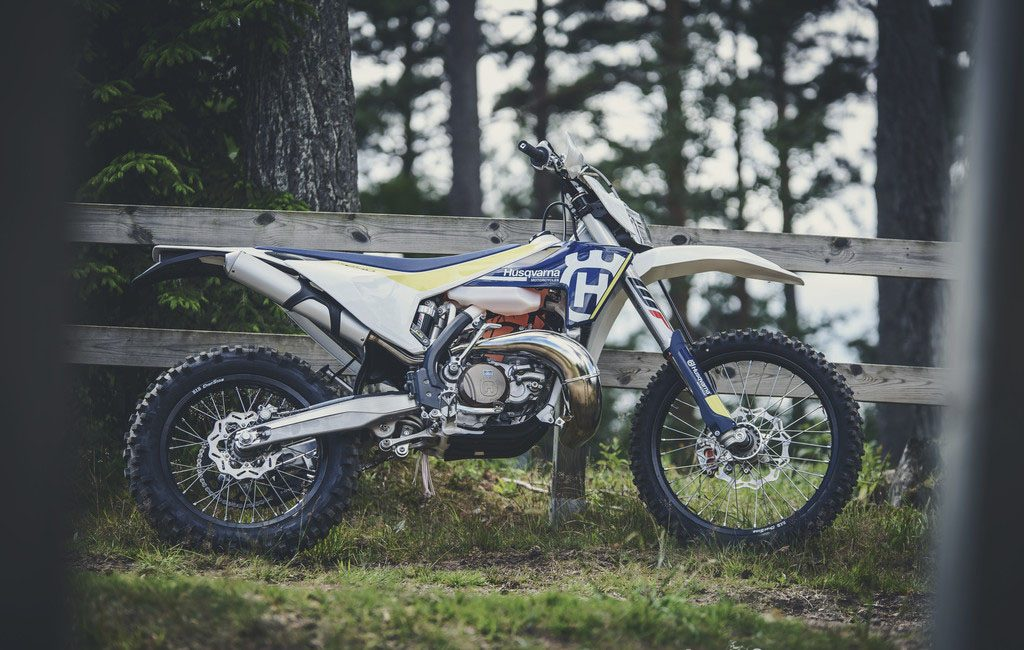 2017 sees major changes to the entire Husqvarna enduro range, both four-strokes and two-strokes.