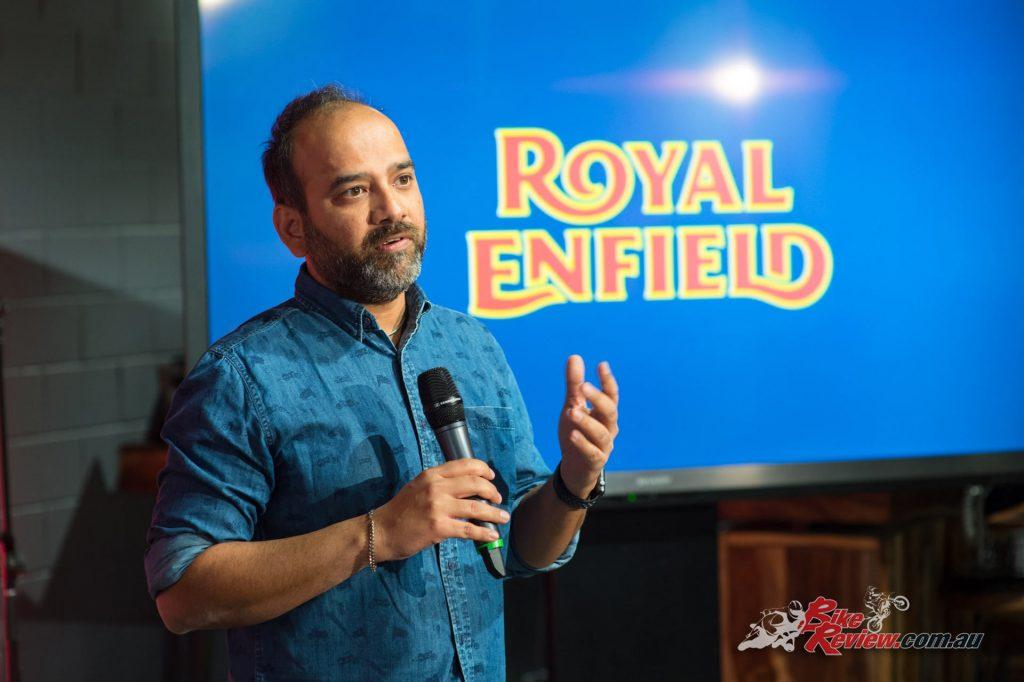 Rudratej (Rudy) Singh - President Royal Enfield