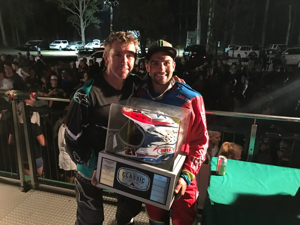 Jarred Mees defends 2017 Troy Bayliss Cup title
