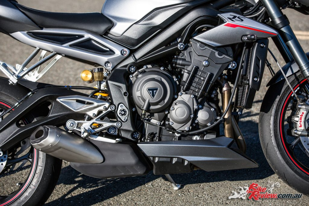 2017 Triumph Street Triple RS - including colour matched bellypan and cowl